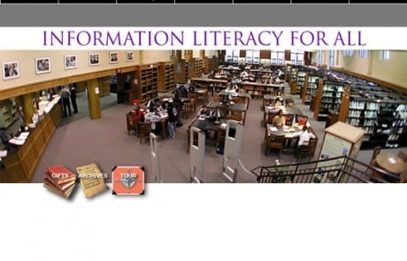 Boston Latin School Library Homepage Template