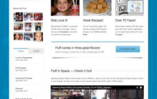 Marshmallow Fluff Homepage