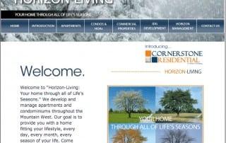 Horizon-Living, Winter Homepage