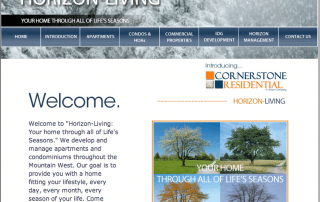 Horizon-Living, Winter Homepage