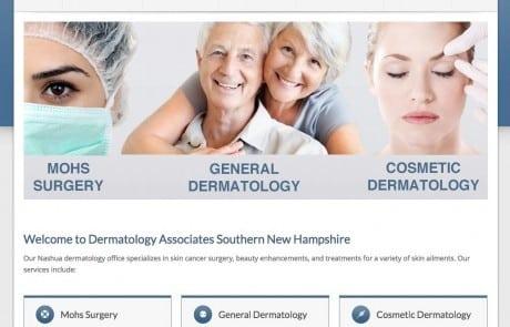 NHSkin Homepage