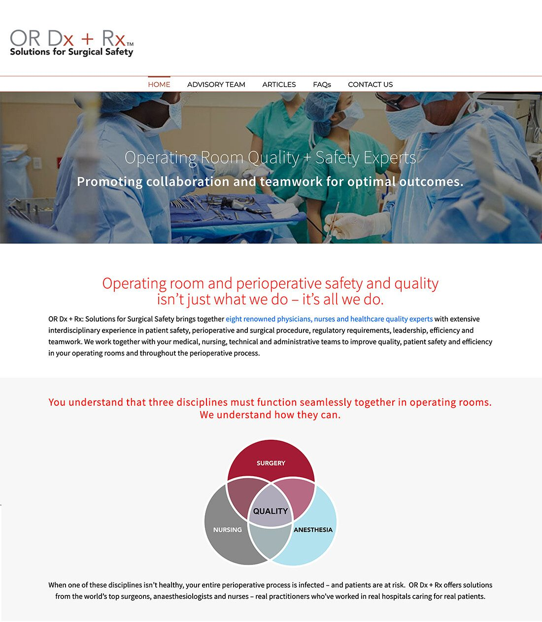 ORDXRX Homepage