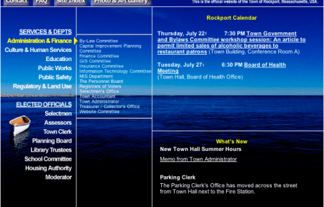 Town of Rockport Homepage