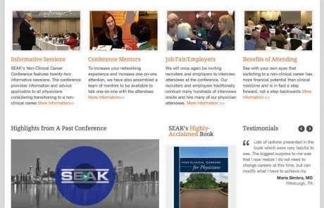 Seak Non-Clinical Careers for Physicians Conference