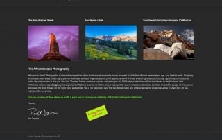 Swell Photographs Homepage
