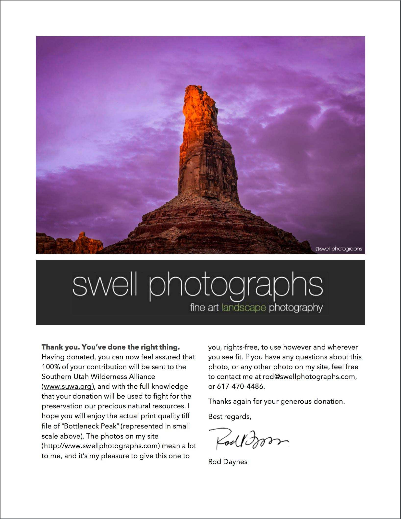 Swell Photographs