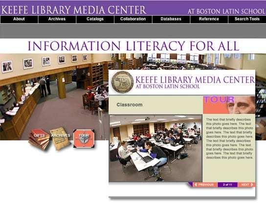 Boston Latin School Library Tour