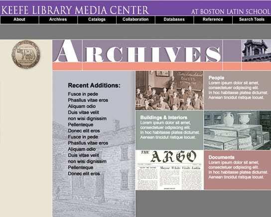 Boston Latin School Archives Template