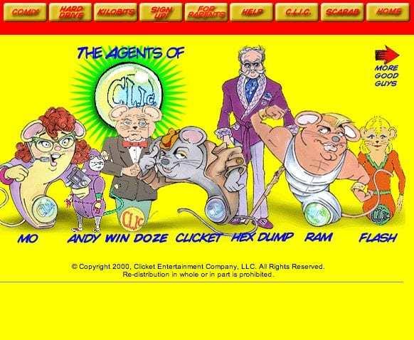Clicket Comics