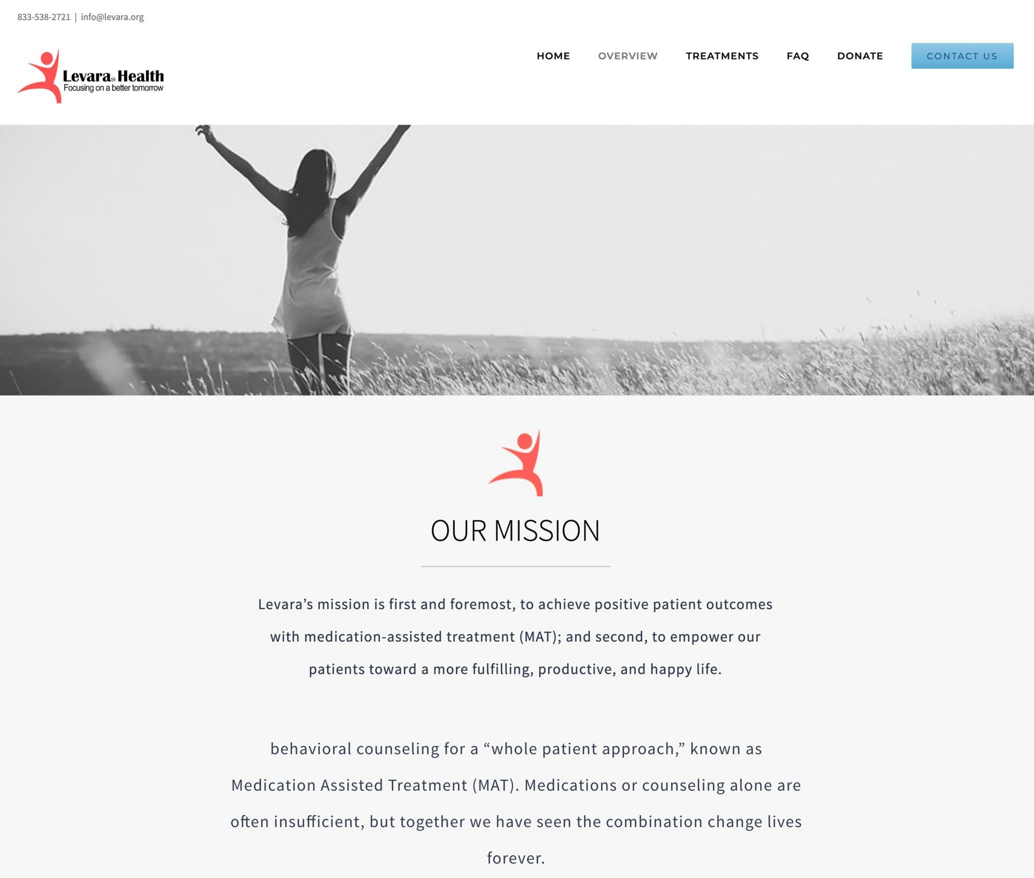 Levara Health - Our Mission