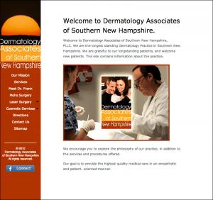 NH Skin Original Home Page