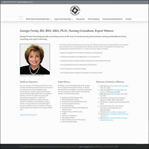 Georgia Persky Consulting, LLC