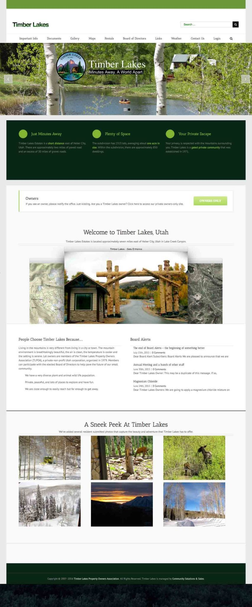 Timber Lakes