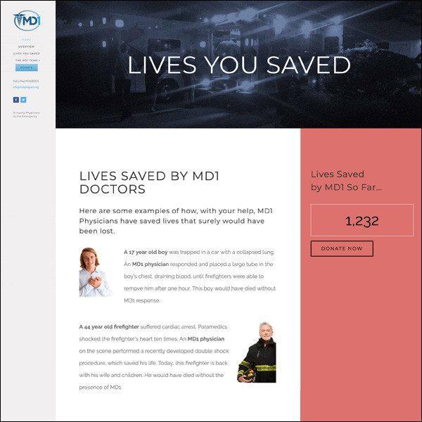 MD1 - Lives Saved